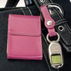 Card Holder & Keychain Watch Set